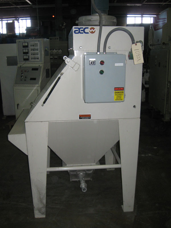 Used Aec Powder Bag Break Station Blades Machinery